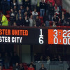 Manchester United 1 – Manchester City 6
