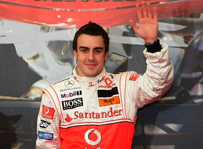 Fernando Alonso seguro en Interlagos