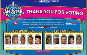 ALL-STAR WEEKEND 2008. Quintetos titulares.
