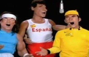 Los guiñoles franceses cantando Viva España