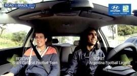 Sorín y Bernard en Road to Brasil