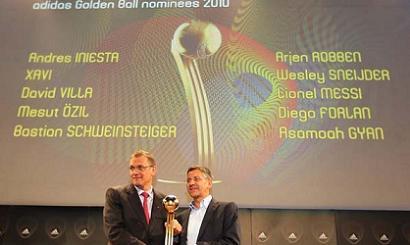 Balon de Oro Mundial 2010