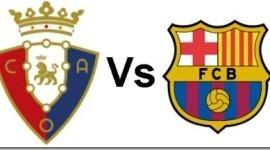 Ver Osasuna vs Barcelona en vivo y por Internet