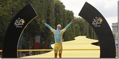 Contador Tour de France 2010