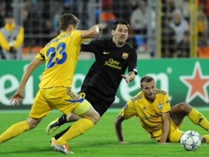 FC Barcelona vs BATE Borisov 2011