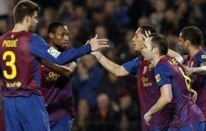 Goles Barcelona 3–1 Sporting Gijon