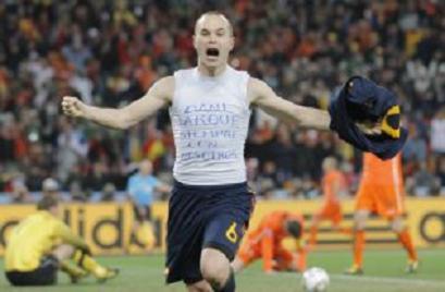 Gol Iniesta