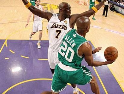 Lakers Celtic 2010