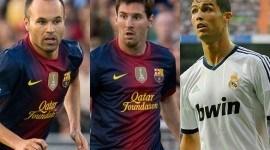 Los candidatos al Balón de Oro 2012
