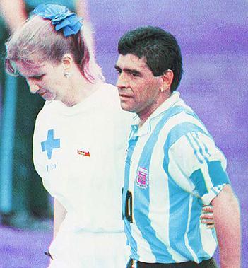 Maradona Enfermera