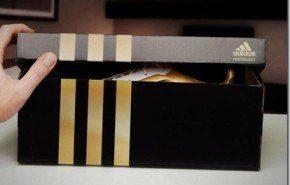Las botas doradas de Lionel Messi