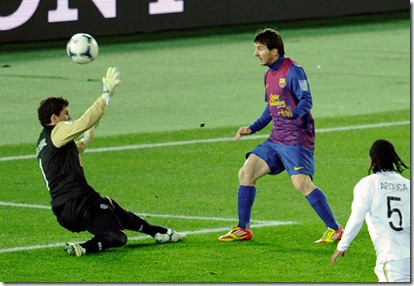 Messi Gol al Santos