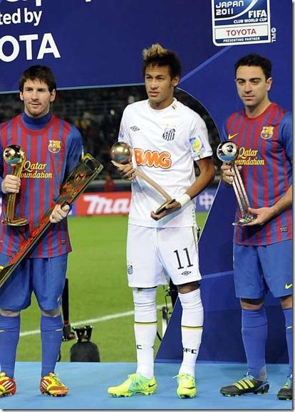 Messi Neymar Xavi