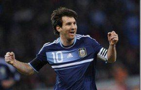 Hat trick de Messi para Argentina