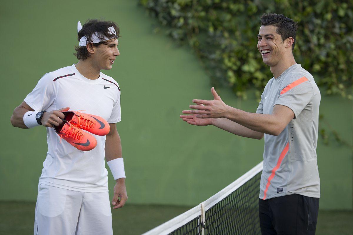 Con Las Nuevas Mercurial De Ronaldo  Nadal Demuestra Sus Habilidades