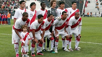 Peru Copa America 2011