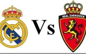 Ver Real Madrid vs Zaragoza en vivo y por Internet