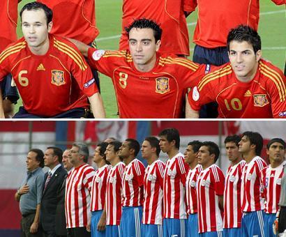 Seleccion Espanya Paraguay