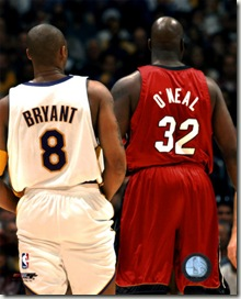 AAGO064~Shaquille-O-neal-Kobe-Bryant-Heat-Lakers-Posters