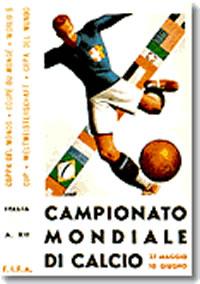 Cartel de Italia 1934