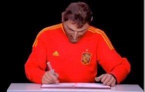 Casillas, Gasol y Nadal firman con jeringuillas en los guiñoles franceses