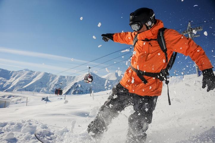 Cuales son los deportes de invierno snowboard
