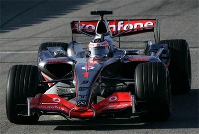 Monoplaza de Fernando Alonso en McLaren
