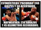 Los Memes del combate pacquiao vs mayweather