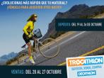 En octubre compra al mejor precio o vende material deportivo en el evento de Trocathlon
