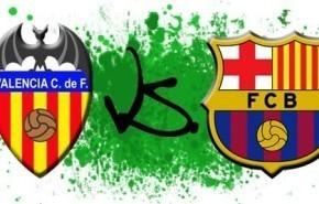 Ver Valencia vs Barcelona (Copa del Rey) en vivo y por Internet